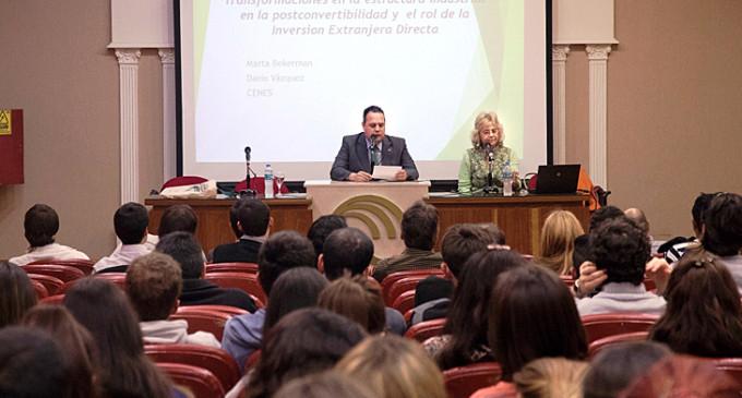 La UNLaM realizó una jornada sobre las transformaciones en la estructura industrial argentina