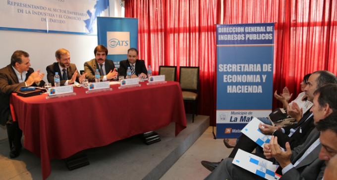 Se realizó en La Matanza una capacitación sobre temas impositivos