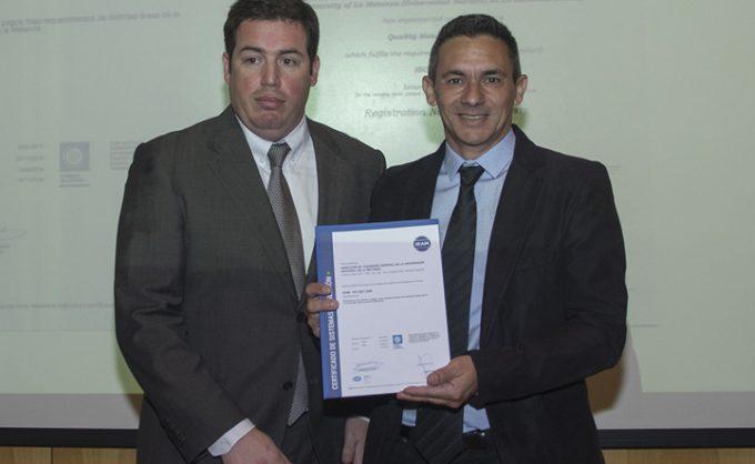 La UNLaM certificó normas de calidad IRAM en su Tesorería